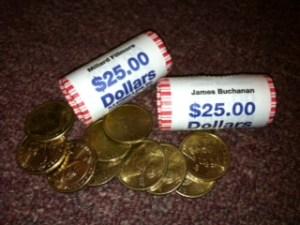 60 dollar coins