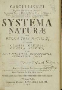Linnaeus - 1758