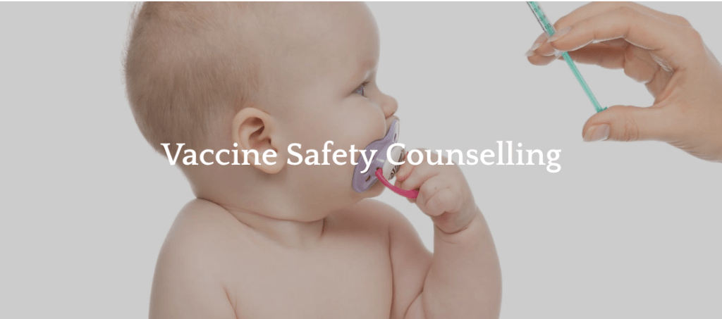 Vaccine safety counseling