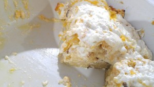 Matzah n' Cheese Slice
