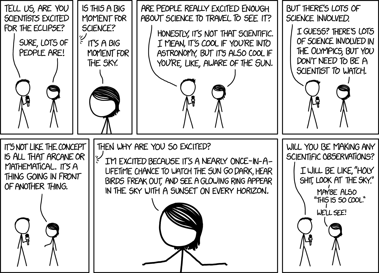 I think xkcd made a comic just for Mano!