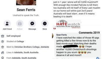 """Fraser Anning says, """"hold my beer """""""
