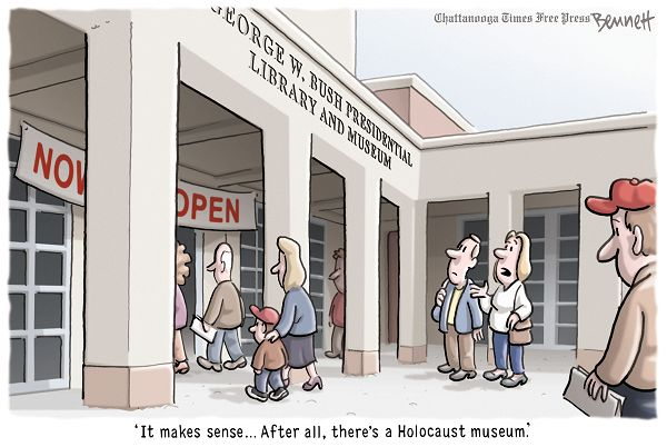 Clay Bennett editorial cartoon