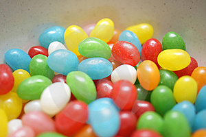 Stock Image - Jelly Beans