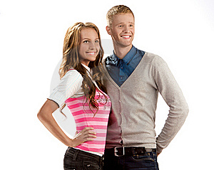 Stock Image - Young Couple