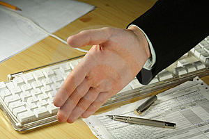 Stock Photography: Business Handshake Picture. Image: 186042