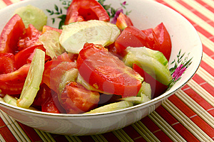 Free Stock Image - Fresh salad