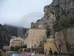 Free Stock Photo - Monastery in Montserrat Spain