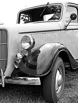 Stock Image - Vintage car