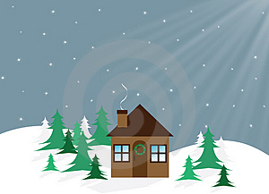 Free Stock Images - Christmas House