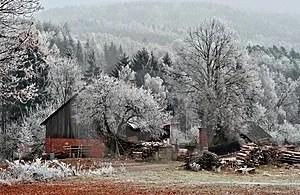 Stock Photos - Winter farm