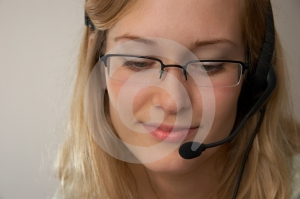 Free Stock Photo - Hotline girl