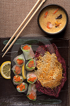 Free Stock Photo - Japanese meal