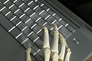 Free Stock Photo: Skeletal Hands Picture. Image: 82755