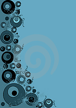 Stock Image - Blue abstract grunge
