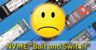 """NVME """"Bait and Switch"""""""