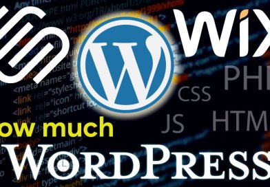 How much WordPress?