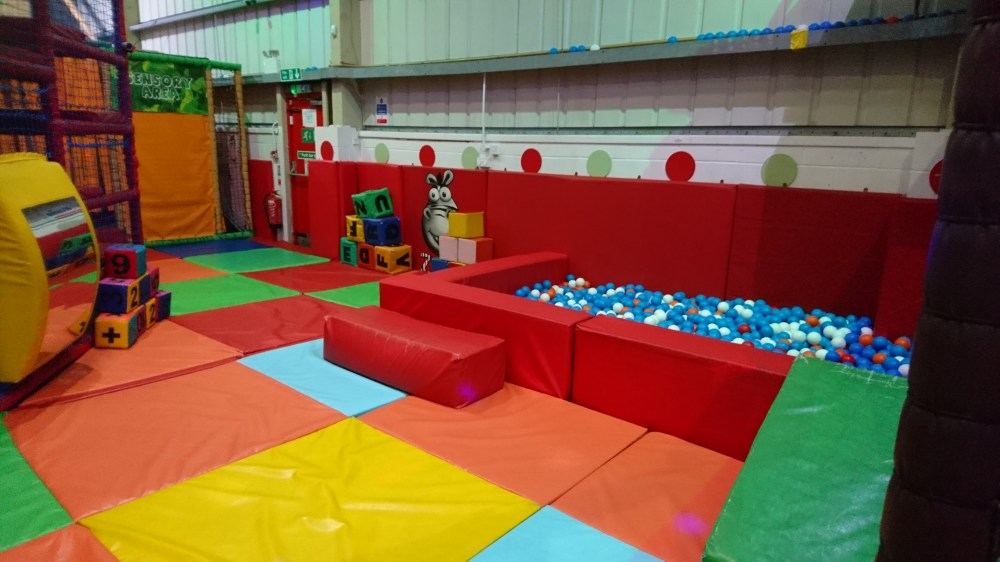 One of the ball pits at Zoomania, Aylesbury