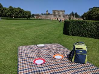 A picnic at Cliveden gardens