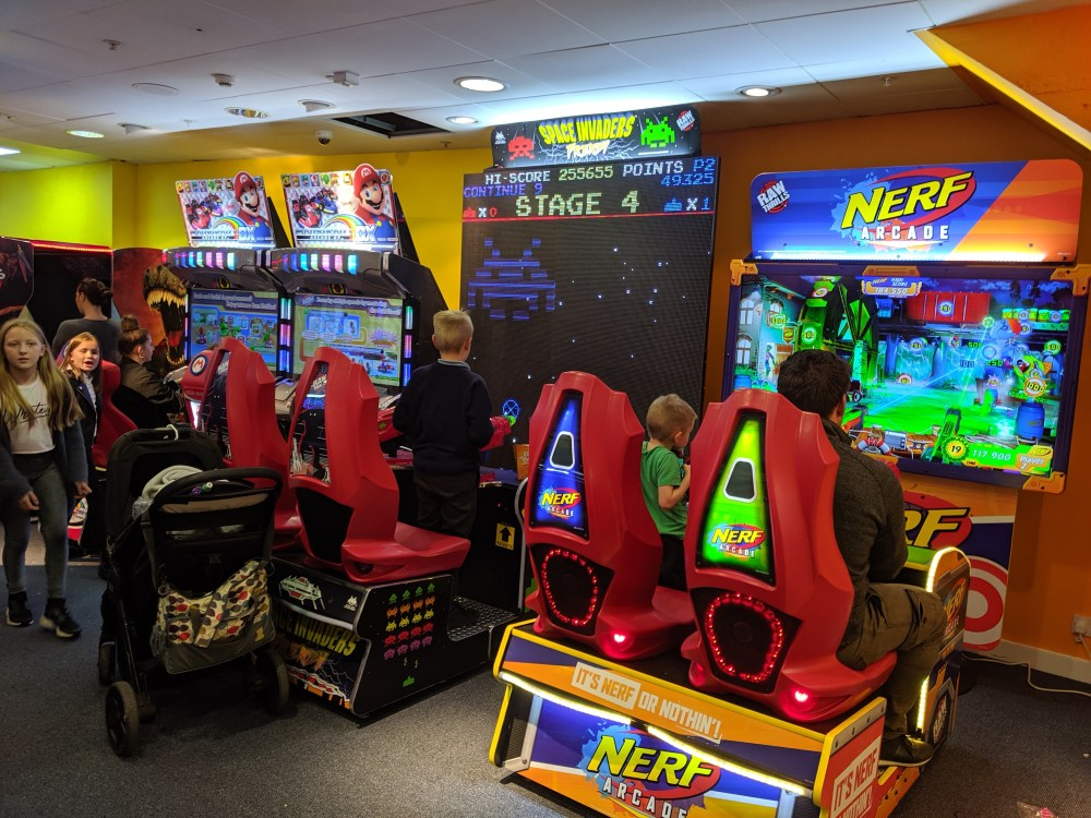 The Arcade Aylesbury | Review | Free Time with the Kids