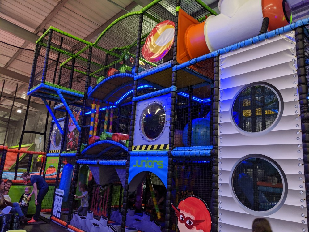 Review of Ruby and Red's Soft Play @ Rush, High Wycombe | Free Time with the Kids