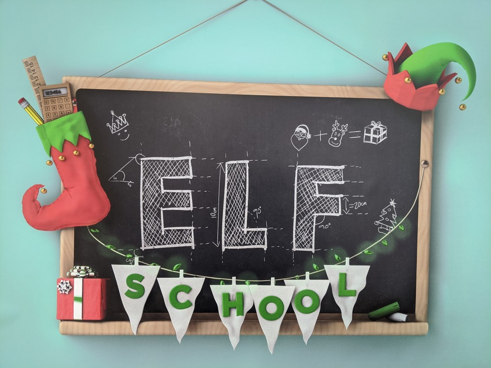 Elf School at the Eden Centre   Free Time with the Kids