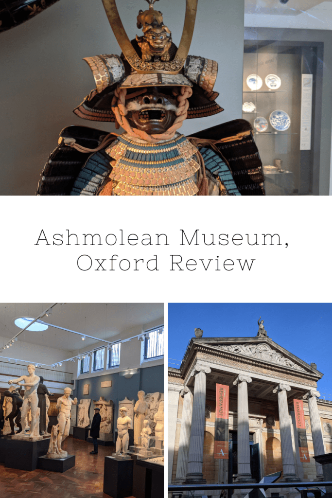 Ashmolean Museum Review, Oxford | Free Time with the Kids | Cheap family days out Oxford