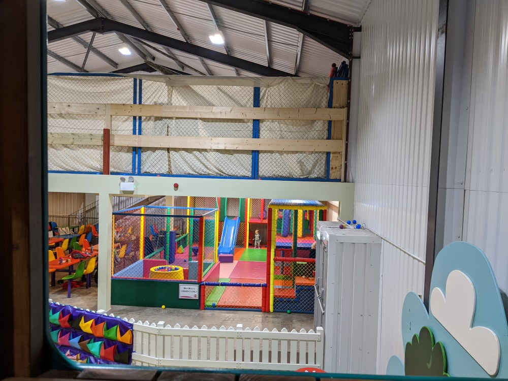 The under 5's area