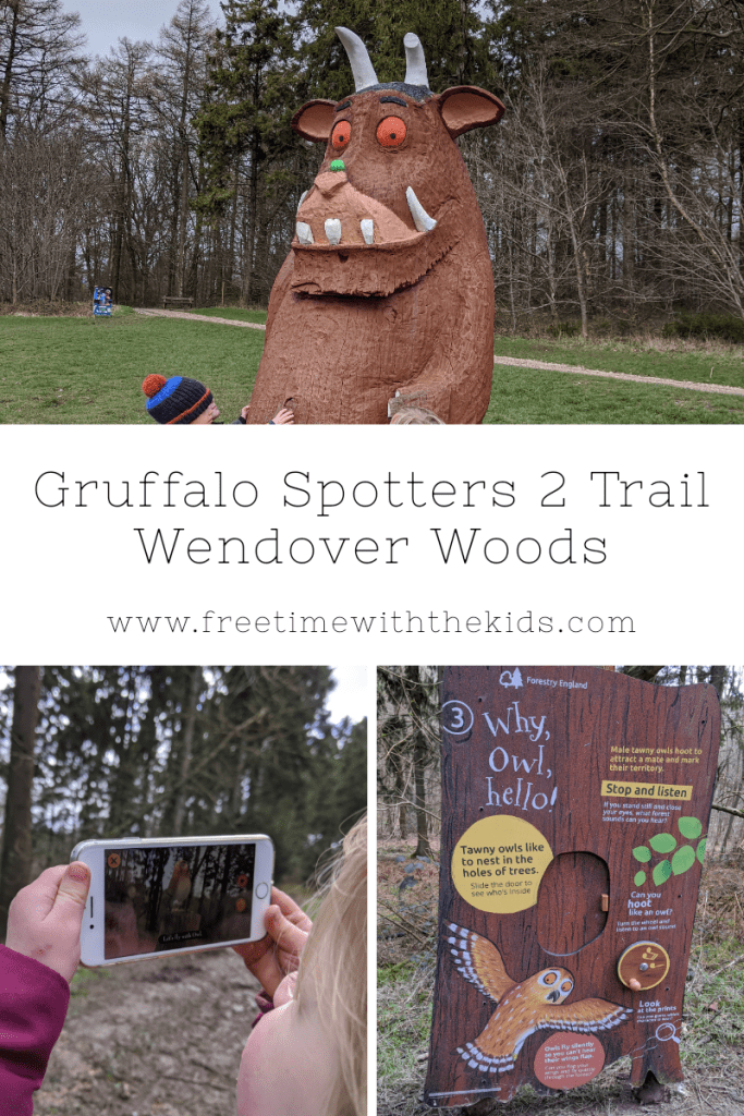 Gruffalo Spotters 2 Trail at Wendover Woods, Buckinghamshire | Review by Free Time with the Kids