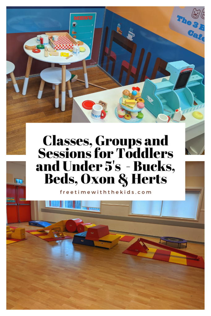 Classes, groups and sessions for Toddlers and under 5's | Bucks, Beds, Oxon & Herts | Free Time with the Kids