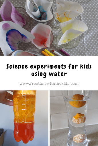 Children's science experiments  | Free Time with the Kids