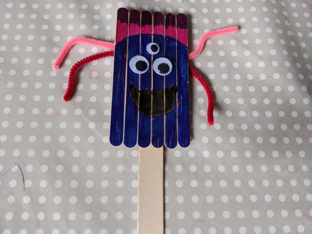 Lolly stick crafts | popsicle crafts | Free Time with the Kids