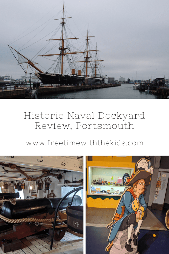 HMS Victory | HMS Warrior | Historic Dockyard Review | Portsmouth | Free Time with the Kids