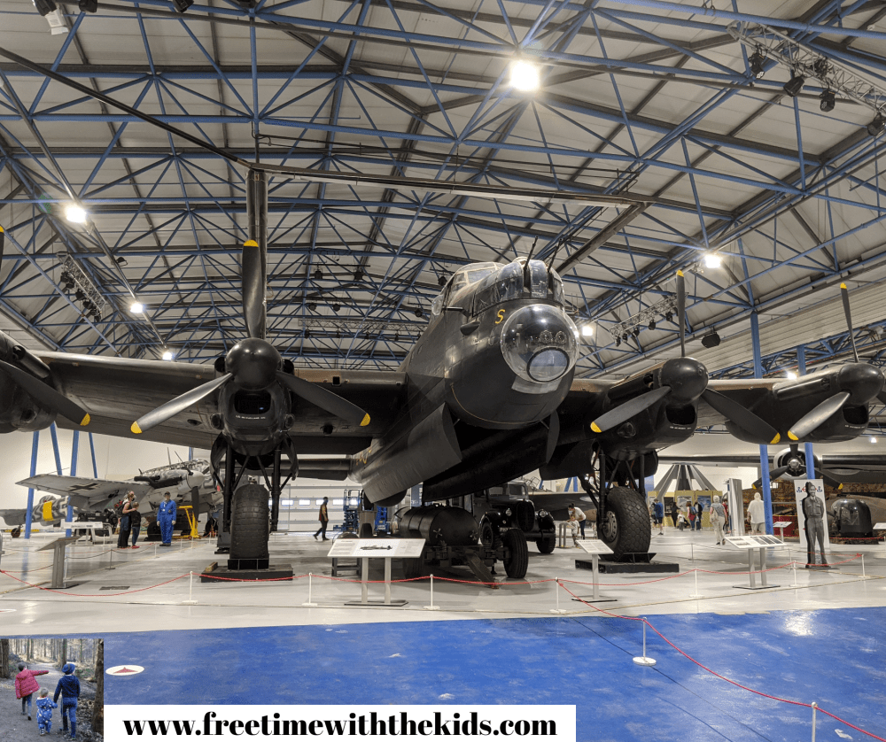 RAF Museum Review | Free Time with the Kids | Free London museums | Museums for kids