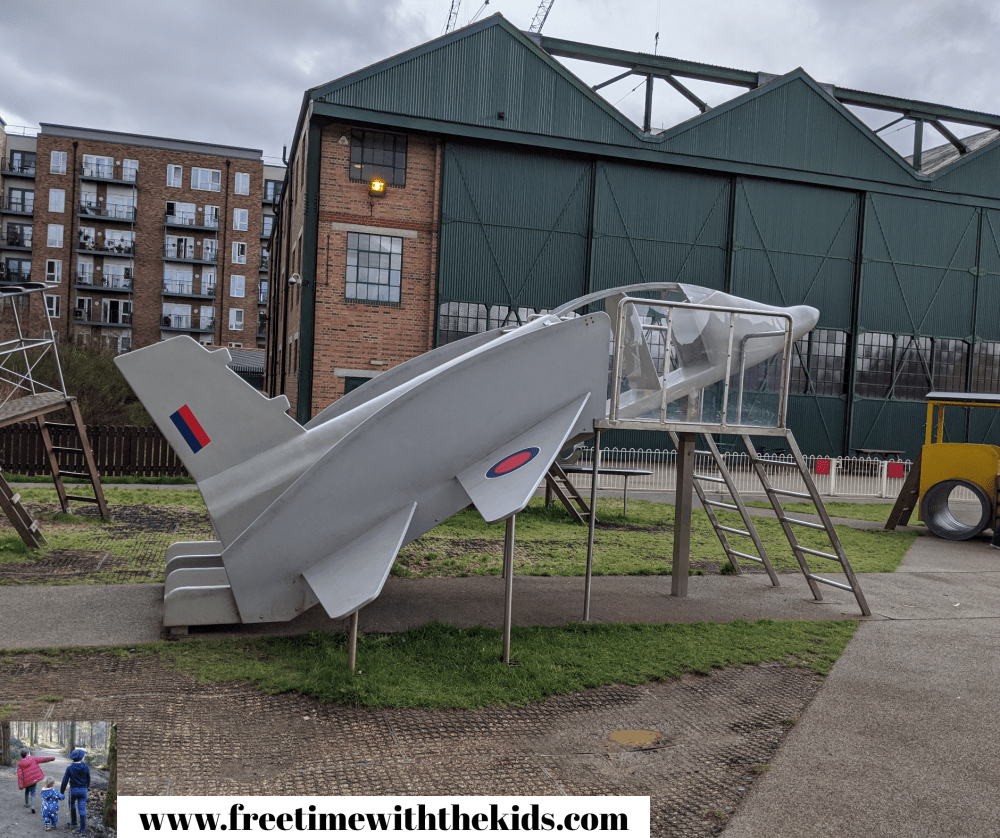 RAF Museum Playground | Free Time with the Kids | Free London museums | Museums for kids