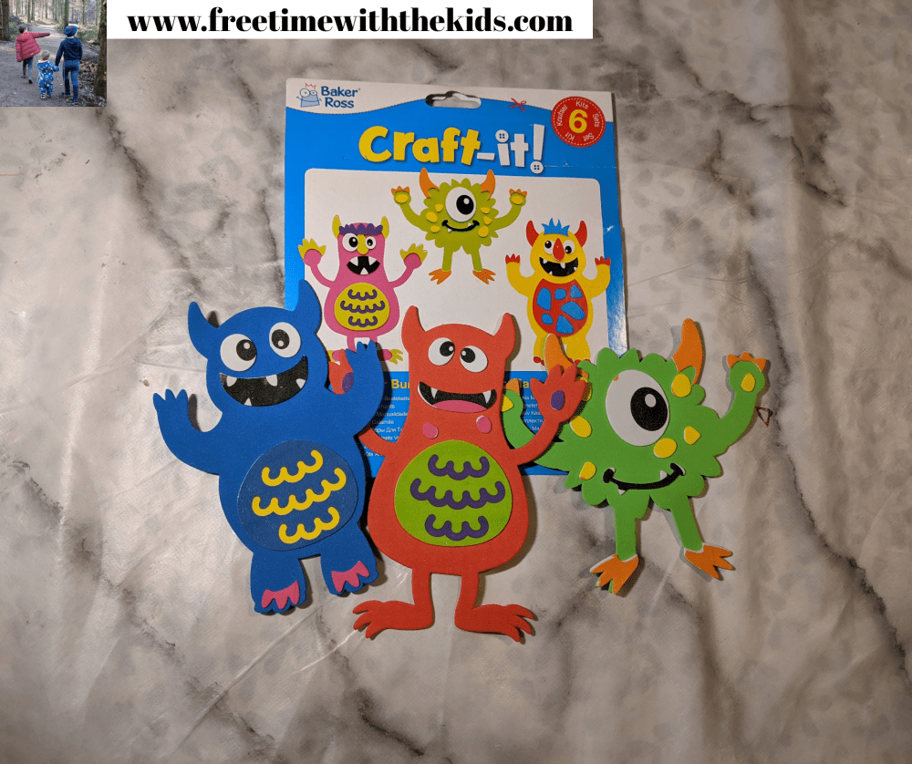 11 simple Halloween crafts for kids and toddlers | Free Time with the Kids