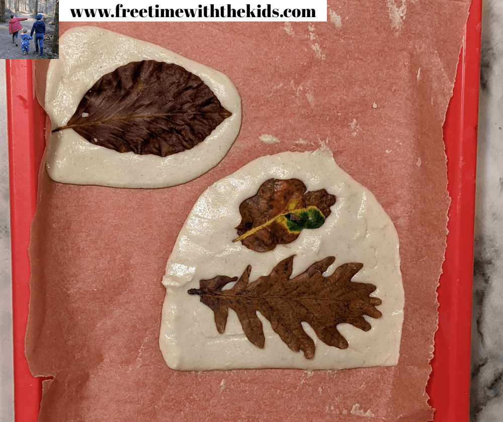 Autumn leaf crafts | craft ideas to do with the children | Free Time with the kids