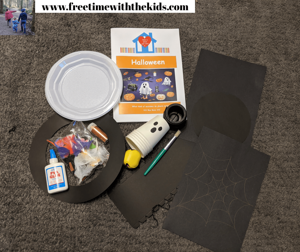 Halloween educational activities | EYFS subscription boxes | Free Time with the kids