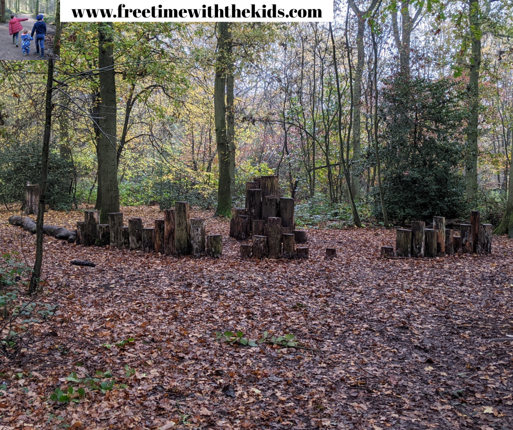 Play trail | Coombe Hill Review | Family friendly walks | Free Time with the Kids