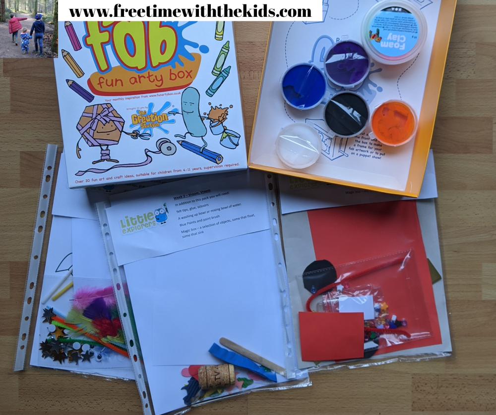 Creation station Thame toddler craft sessions | Online crafts | Review by Free Time with the Kids