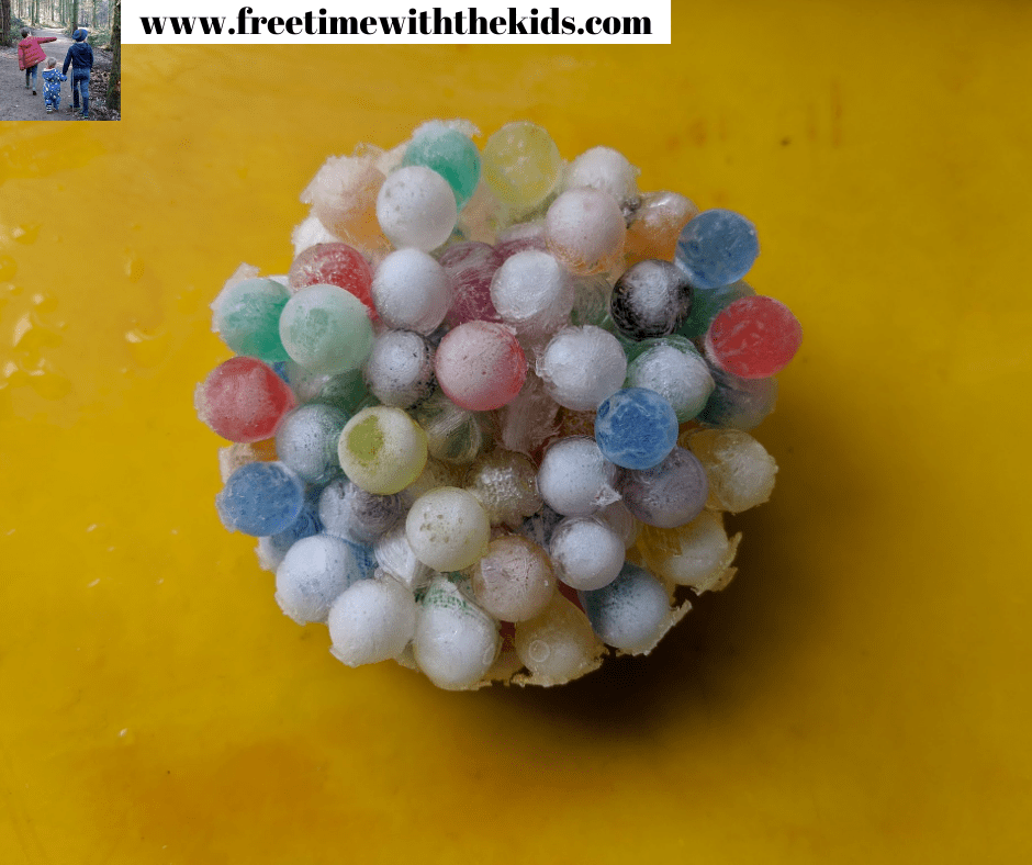 STEM activities using water beads for EYFS and toddlers | Chemistry, science and maths activities for children | Free Time with the Kids