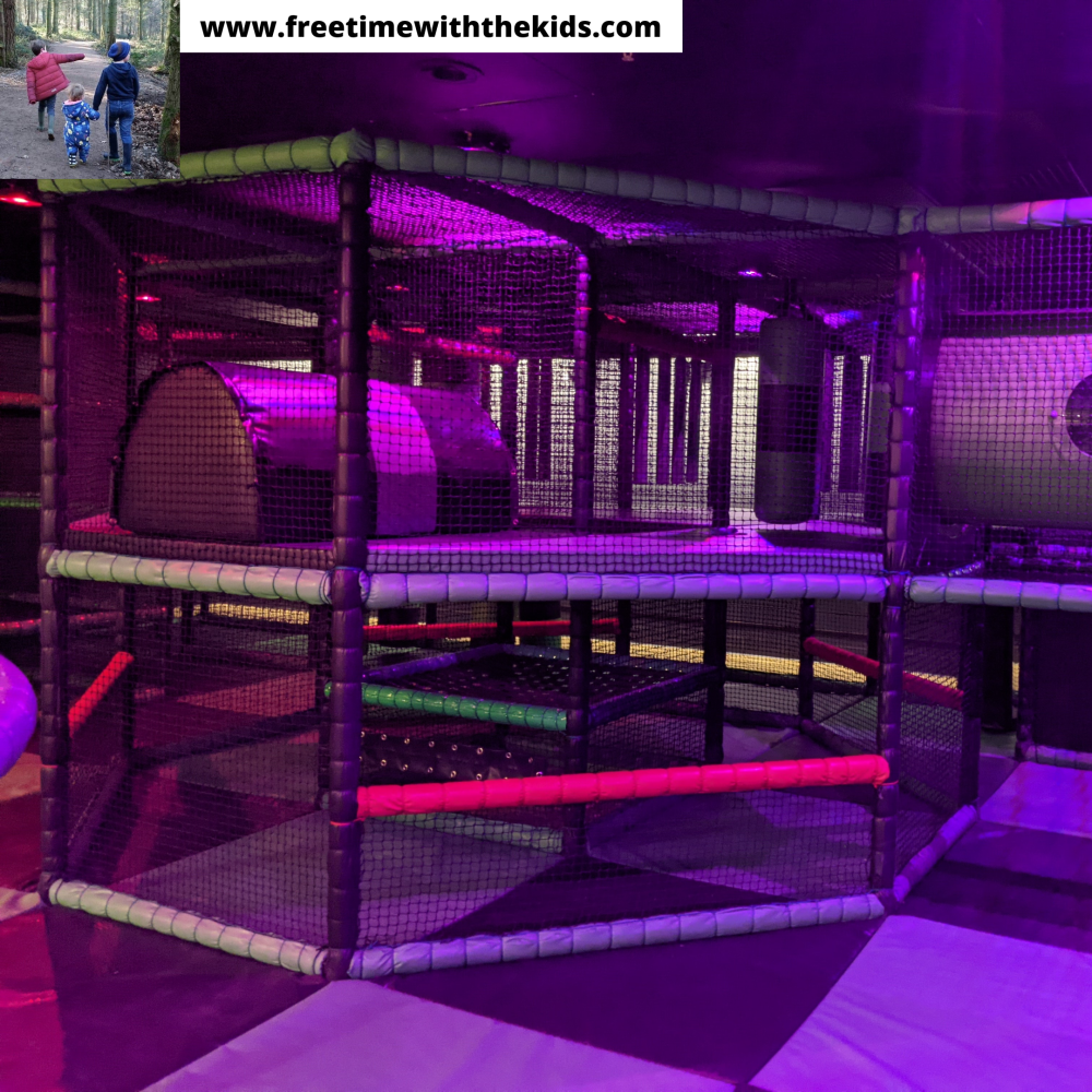 Flip Out Aylesbury Review | ninja tag, crazy golf, laser quest, soft play, ice rink | Indoor activity centre | Review by Free Time with the Kids