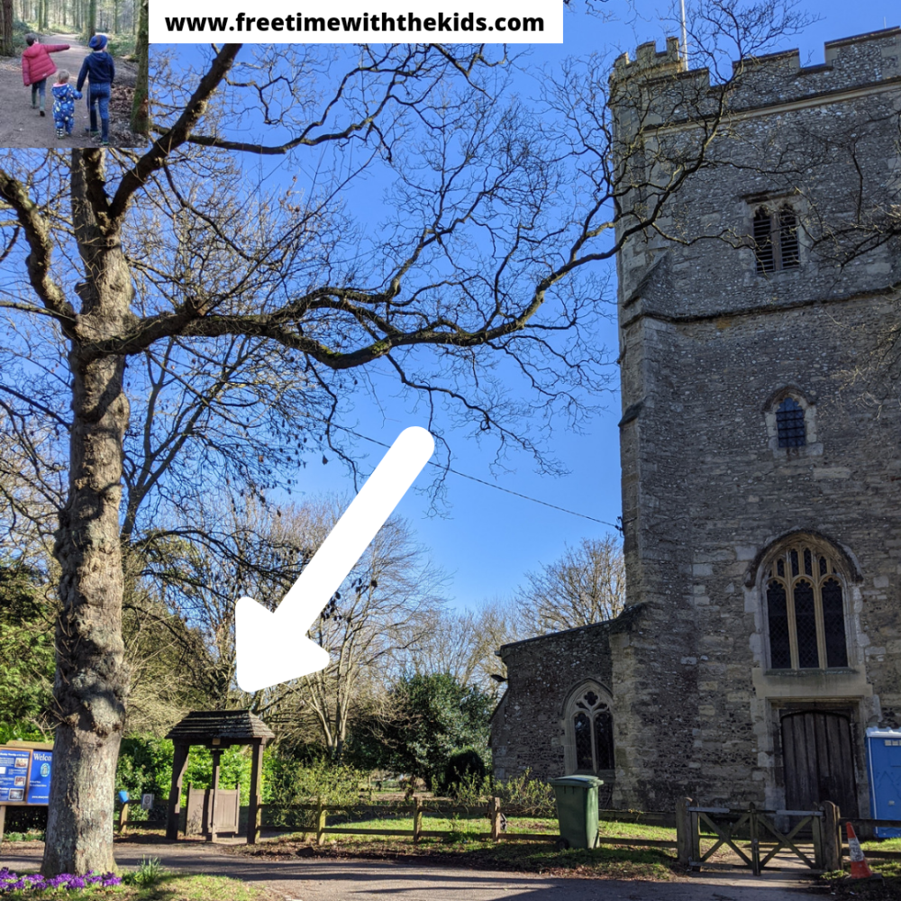 Weston Turville church | Public footpaths in Buckinghamshire | Free Time with the Kids