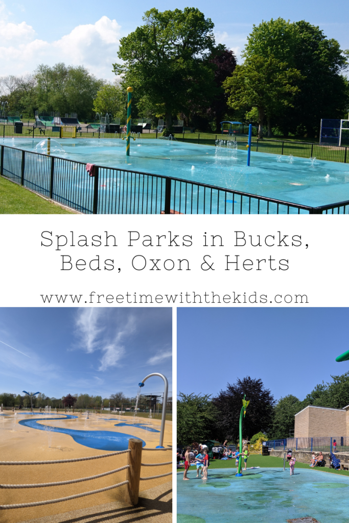 Splash parks in Buckinghamshire, Bedfordshire, Hertfordshire and Oxfordshire | Free Time with the Kids | Free splash parks