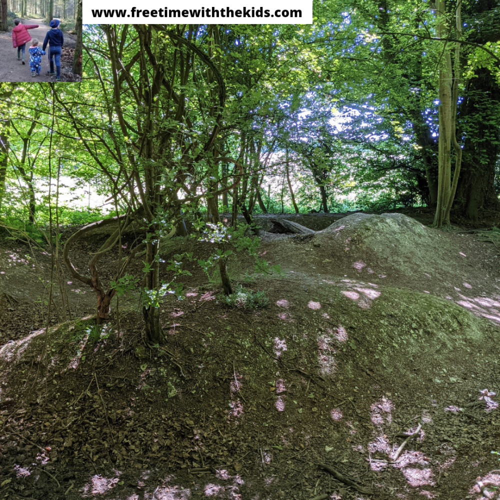 Whiteleaf cross & hill | Monks Risborough | Review by Free Time with the Kids | WWI practoce trenches