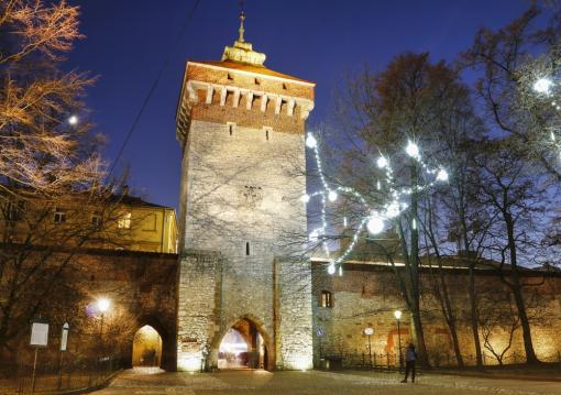 Puerta de San Florián, Cracovia