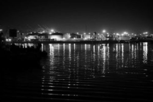 San Pedro Long Beach At Night