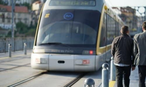 Metro D Line Porto Portugal