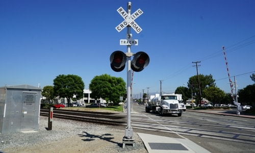 railroad crossing sounds