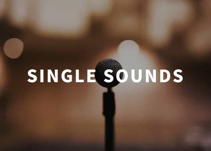 Single Sound Effects Library